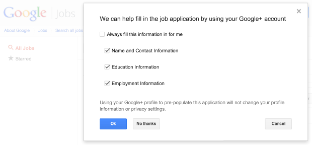 Google comes to Mountain View employment listings, lets you submit applications with fewer clicks